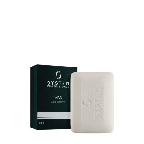 System Professional Man Shampoo Solido 100gr
