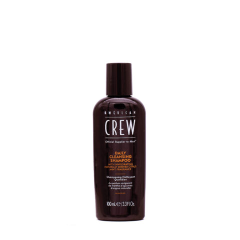 American Crew Daily Cleansing Shampoo Detergente Quotidiano 100ml