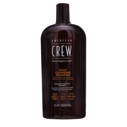 American Crew Daily Cleansing Shampoo Detergente Quotidiano 1000ml