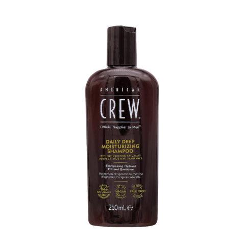 American Crew Daily Deep Moisturizing Shampoo Idratante Quotidiano 250ml