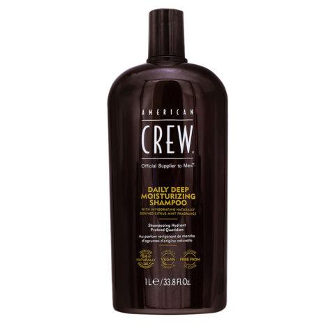 American Crew Daily Deep Moisturizing Shampoo Idratante Quotidiano 1000ml