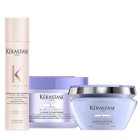 Kerastase Fresh Affair Shampoo a Secco 150gr Cicaextreme Shampoo 250ml Maschera 200ml