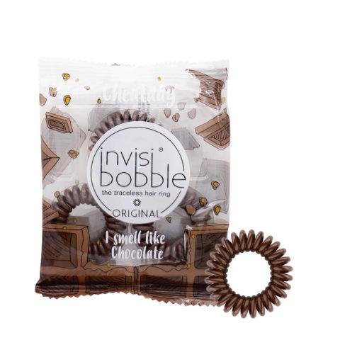Invisibobble Cheatday Elastico per Capelli Profumato al Cioccolato Fondente