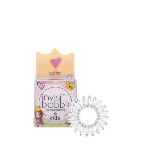 Invisibobble Kids Elastico per i Capelli dei Bimbi Trasparente con Glitter