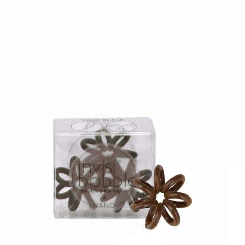 Invisibobble Nano Elastico per Capelli Mini Marrone