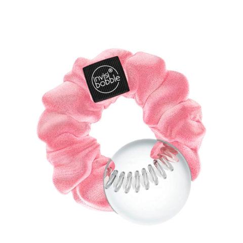 Invisibobble Sprunchie Elastico per Capelli Vintage Velluto Rosa Pastello