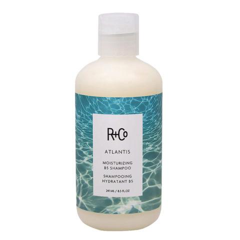 R + Co Atlantis Shampoo Idratante per Capelli Secchi 241ml