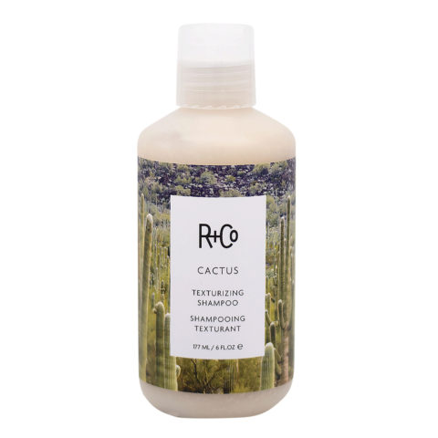 R + Co Cactus Shampoo Volumizzante per Capelli Fini 177ml