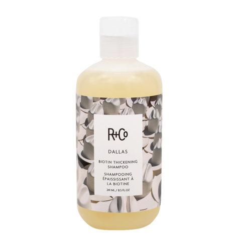 R + Co Dallas Shampoo Rinforzante per Capelli Fragili 241ml