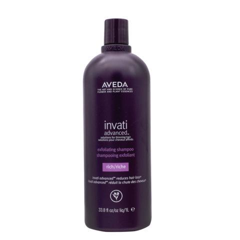 Aveda Invati Advanced Shampoo Esfoliante Ricco per Capelli Medio Grossi 1000ml