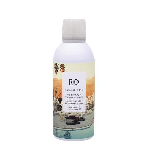 R + Co Palm Spring Pre Shampoo Treatment Maschera per Capelli Rovinati 164ml