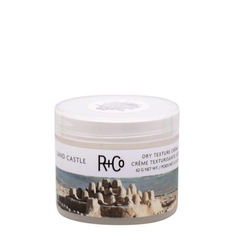 R + Co Sand Castle Dry Texture Crema per Capelli Da Spiaggia 62gr