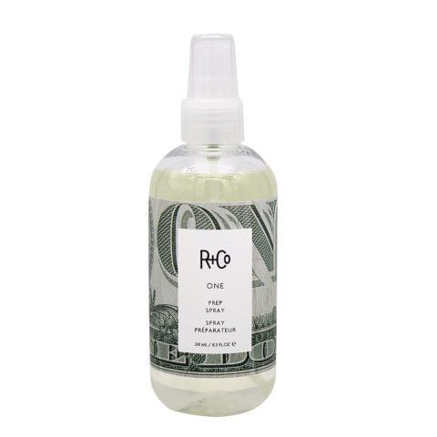 R + Co One Prep Spray Protettivo per tutti i tipi di Capelli 241ml