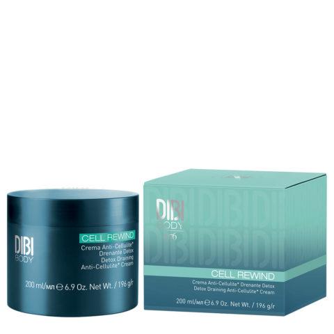 Dibi Milano Cell Rewind Crema Anticellulite Drenante Detox 200ml
