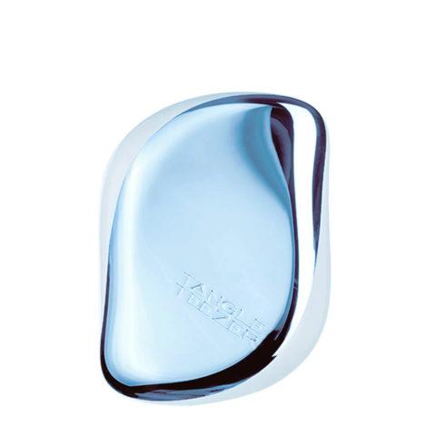 Tangle Teezer Compact Styler Sky Blue Delight - spazzola compatta blu metallizzato