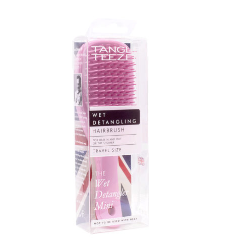 Tangle Teezer The Wet Detangler Small Baby Pink Sparkle - spazzola rosa mini per capelli bagnati