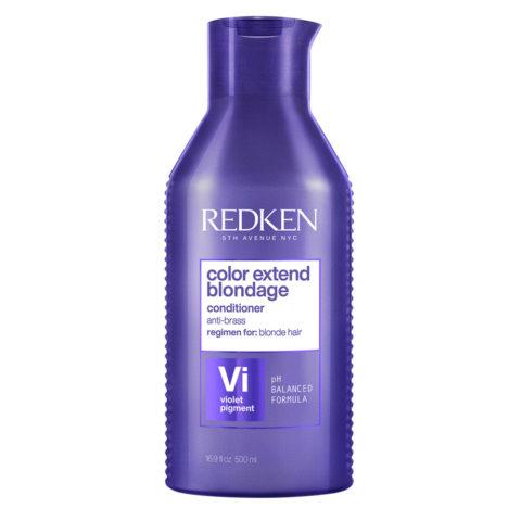 Redken Color Extend Blondage Conditioner Formato Speciale 500ml - balsamo antigiallo