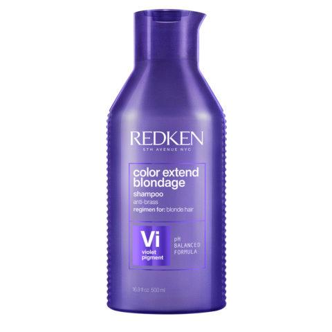 Redken Color Extend Blondage Shampoo Formato Speciale 500ml - shampoo antigiallo