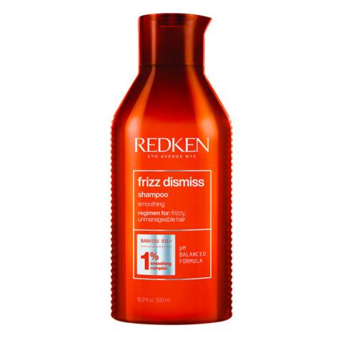 Redken Frizz Dismiss Shampoo Formato Speciale 500ml - shampoo per capelli crespi