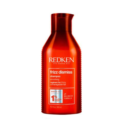 Redken Frizz Dismiss Shampoo 300ml - shampoo contro l'effetto crespo