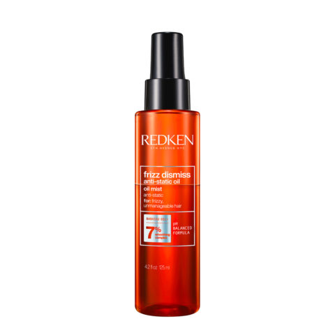 Redken Frizz Dismiss Anti-Static Oil 125ml - olio per capelli elettrici