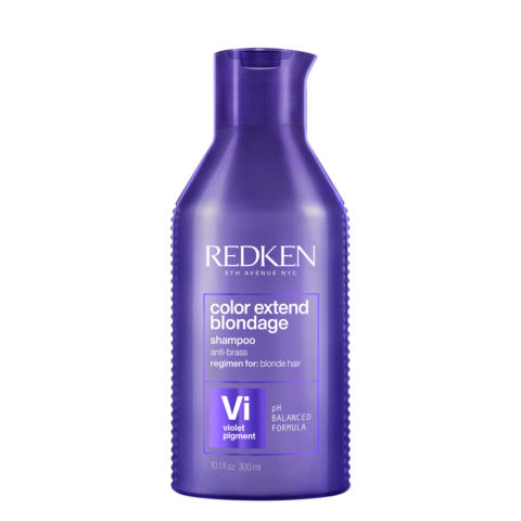 Redken Color Extend Blondage Shampoo 300ml - shampoo antigiallo