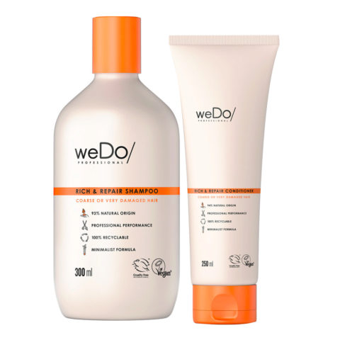 weDo Rich & Repair Shampoo 300ml + Conditioner 250ml