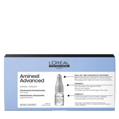 L'Oréal Professionnel Paris Serie Expert Scalp Aminexil Advanced 10x6ml - fiale anticaduta