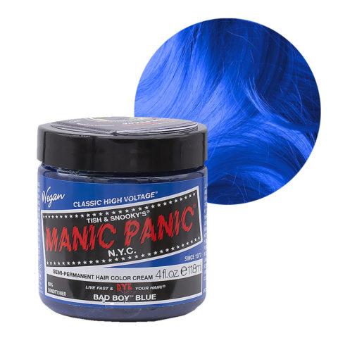 Manic Panic Classic High Voltage Bad Boy Blue  118ml - Crema Colorante Semi-Permanente