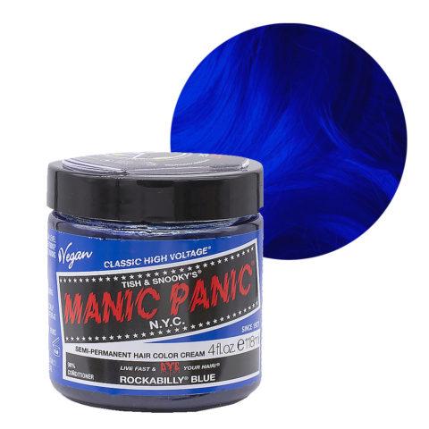 Manic Panic Classic High Voltage Rockabilly Blue 118ml - Crema Colorante Semi-Permanente