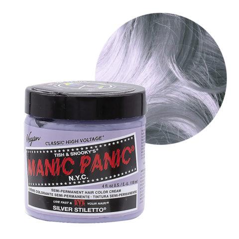 Manic Panic Classic High Voltage Silver Stiletto  118ml -  Crema Colorante Semi-Permanente
