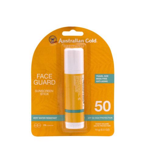 Australian Gold SPF 50  face Guard 15ml - stick alta protezione viso