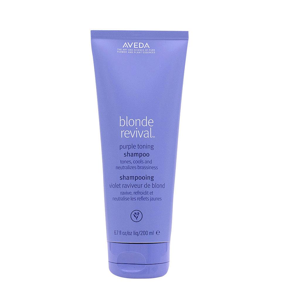 Aveda Blonde Revival Purple Toning Shampoo 200ml - shampoo anti-giallo