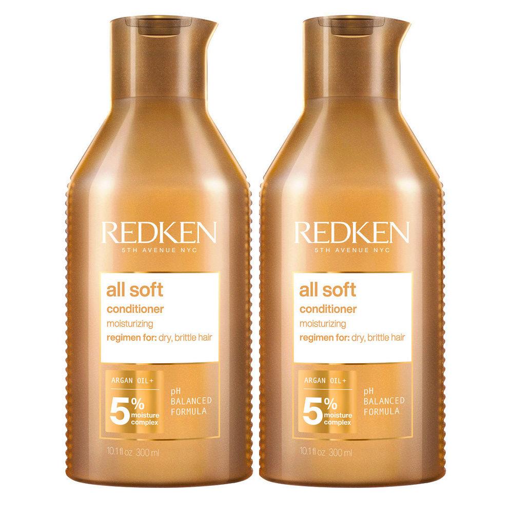 Redken All Soft Kit di 2 Conditioner Formato Speciale 500ml+500ml