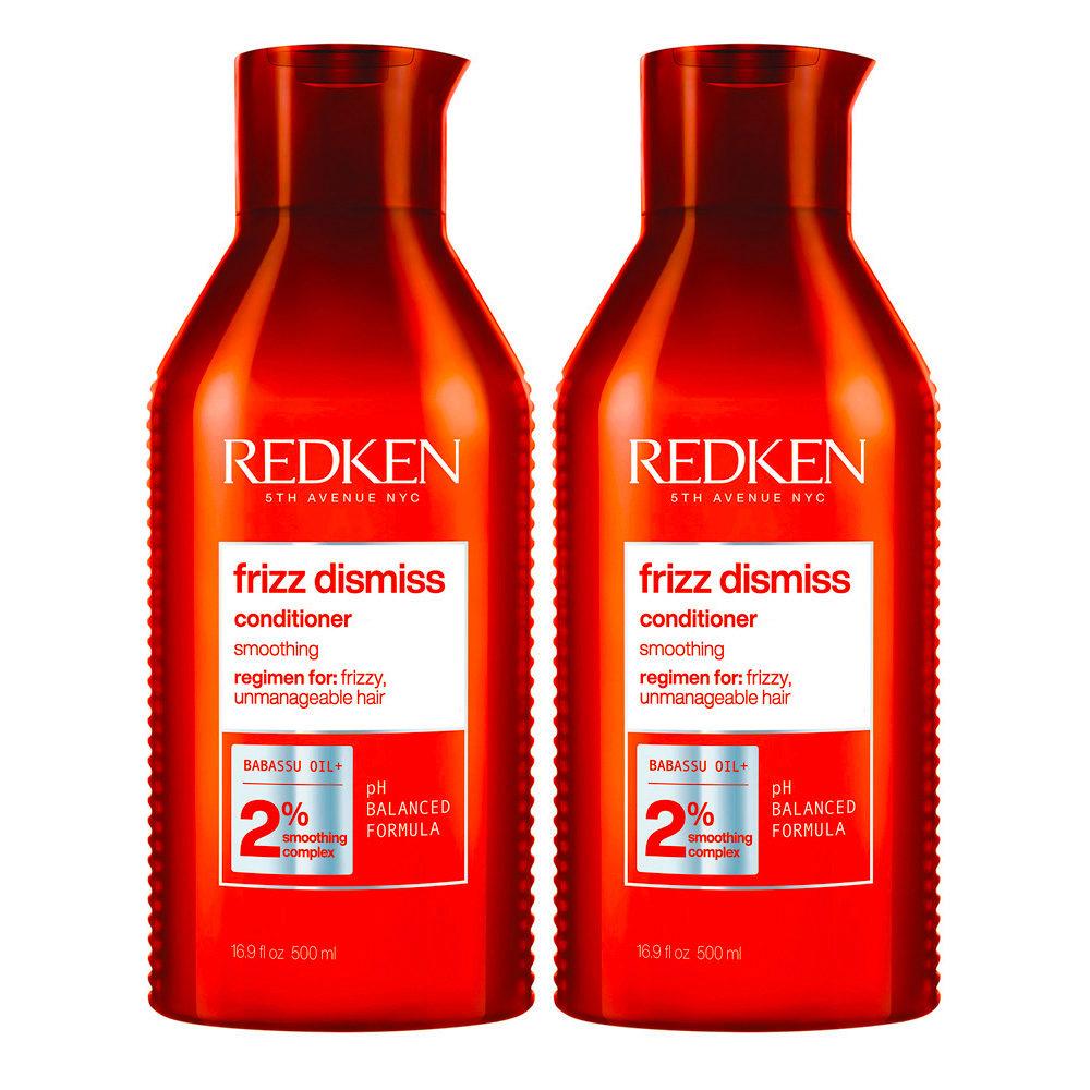 Redken Frizz Dismiss Kit di 2 Conditioner Formato Speciale 500ml+500ml