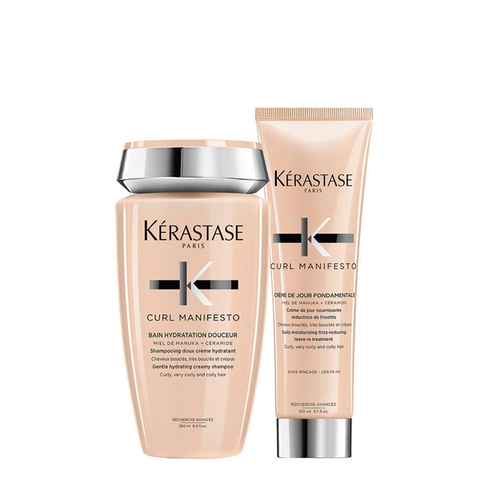 Kerastase Curl Manifesto Kit Capelli Ricci Shampoo250ml Crema150ml