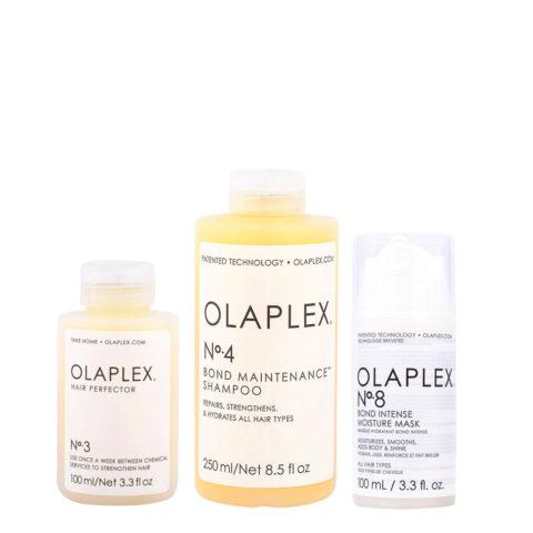 Olaplex Kit Capelli Perfetti N°3 100ml N°4 250ml N°8 100ml
