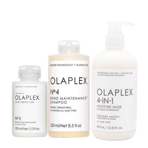 Olaplex Kit Riparazione Intensa N° 3 100ml  N°4 250ml  N°4in1 370ml
