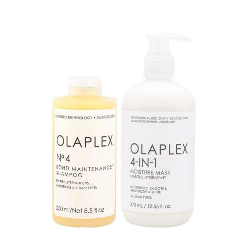 Olaplex Kit Riparazione N° 4 250ml, 4in1 370ml