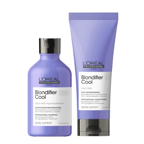 L'Oréal Professionnel Paris Serie Expert Blondifier Kit Capelli Biondi Shampoo 300ml  Balsamo 200ml