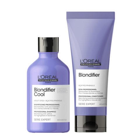 L'Oréal Professionnel Paris Serie Expert Kit Biondi Naturali Shampoo 300ml  Balsamo 200ml