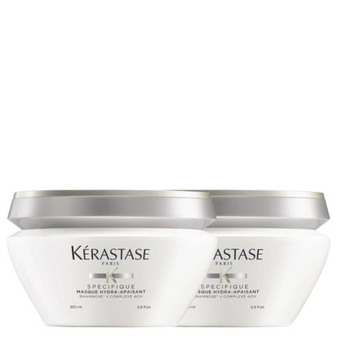 Kerastase Specifique Masque Hydra Apaisant 200ml Pack X2