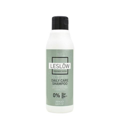 Leslōw Daily Care Shampoo 250ml-capelli normali, lavaggi frequenti