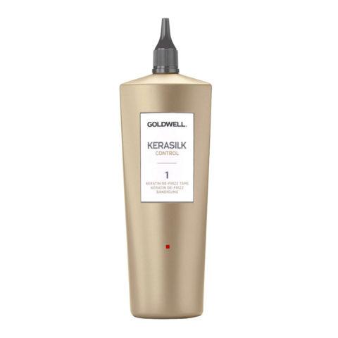 Goldwell Kerasilk Control 1 Keratin De Frizz Tame 500ml - Trattamento Anticrespo Alla Cheratina