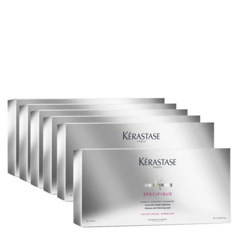 Kerastase Specifique Cure Fiale Anticaduta Intensive 10x6ml  6  confezioni