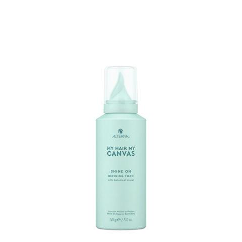 Alterna My Hair My Canvas Shine On Defining Foam 145gr- schiuma