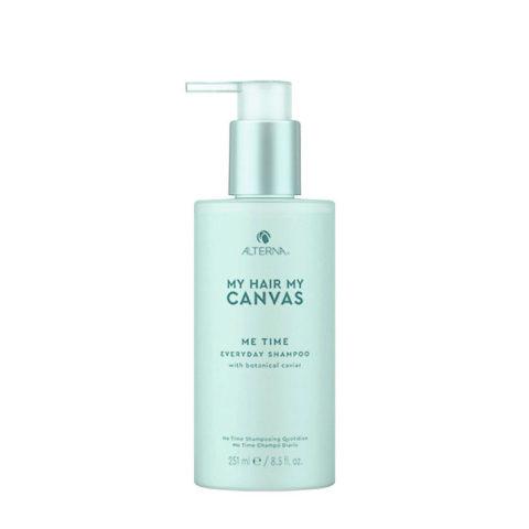Alterna My Hair My Canvas  Me Time Everyday Shampoo 251ml - shampoo uso quotidiano