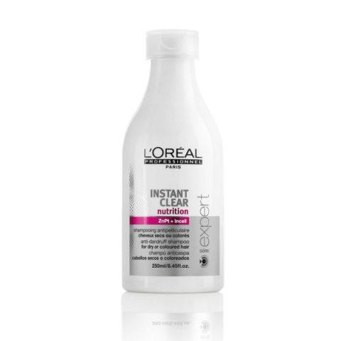 L'Oreal Instant Clear Nutrition dry dandruff Shampoo 250ml