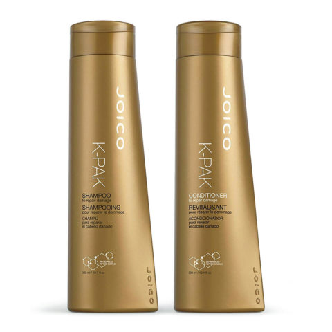 Joico K-pak Kit1 Shampoo 300ml Conditioner 300ml