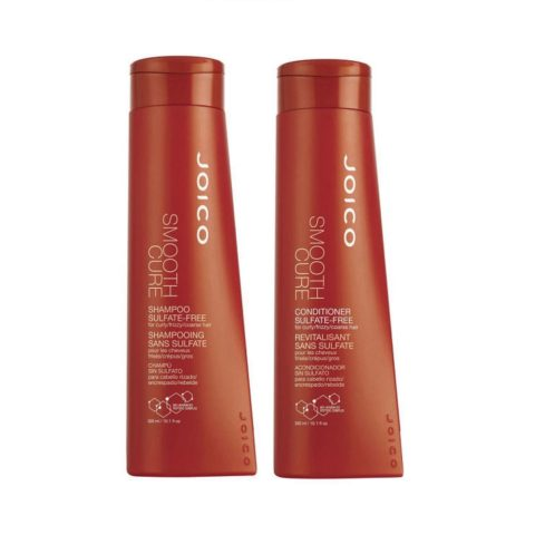 Joico Smooth cure Kit1 Sulfate-free shampoo 300ml conditioner 300ml